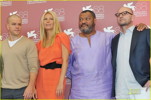 Gwyneth Paltrow: 'Contagion' bức ảnh Call in Venice!