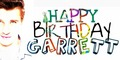 HAPPY BIRTHDAY GARRETT