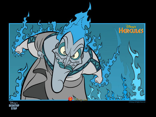 Childhood Animated Movie Villains achtergrond with anime entitled Hades