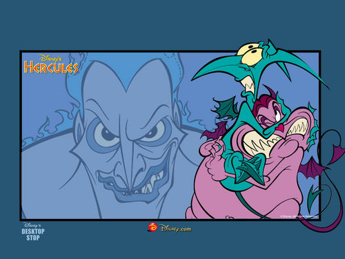 Childhood Animated Movie Villains wallpaper containing Anime called Hades