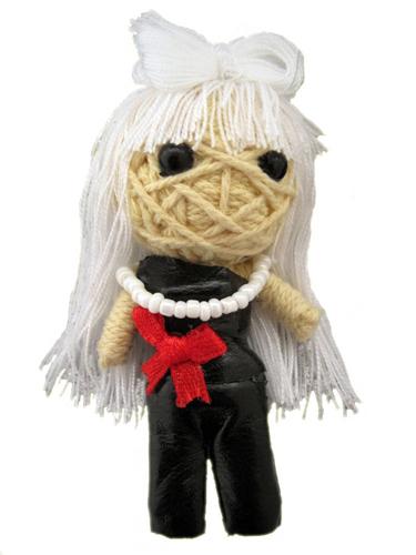 Handmade Lady G String Doll - www.mystringdolls.com