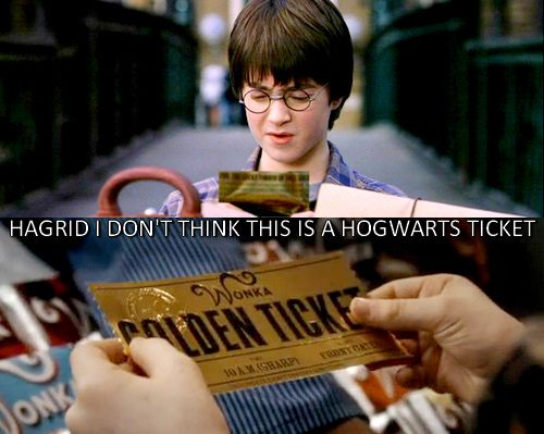 Harry Potter and The chocolate Factory