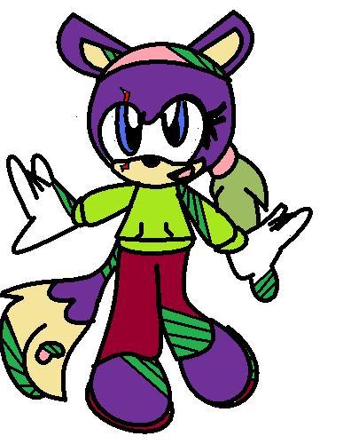 Hazel In Sonic Riderz