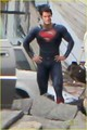 Henry Cavill: 'Man of Steel' Set Photos! - henry-cavill photo