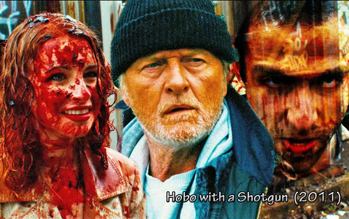 Hobo with a Shotgun 2011 - movies Wallpaper