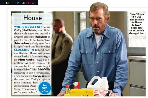 House - Episode 8.01 - Twenty Vicodin - US Weekly Scan