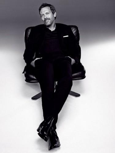 Hugh Laurie new L'Oreal poster- L'Oreal Vita Lift 5.