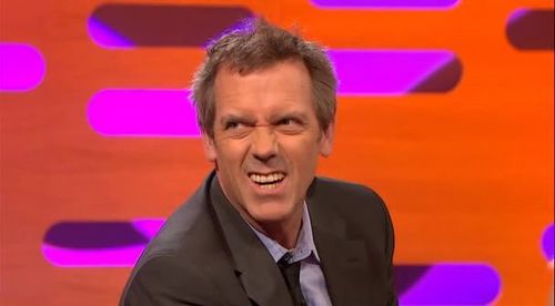 Hugh Laurie at The Graham Norton Show May.5 2011