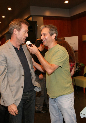 Hugh laurie and David Shore