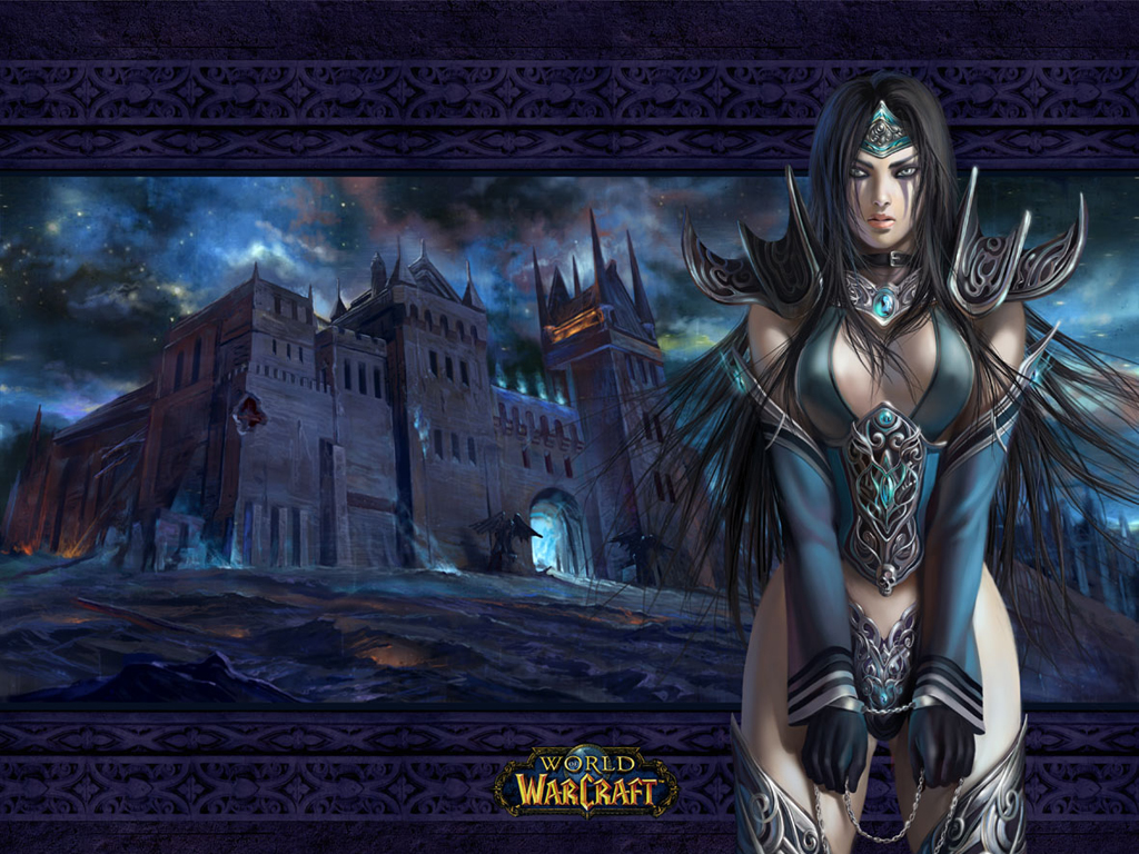 World of Warcraft images Human female Dk HD wallpaper and ...