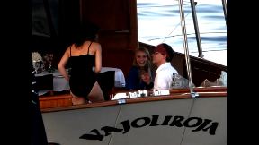JD美 Johnny on his Yacht