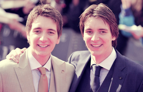 James & Oliver/Fred & George