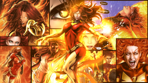 X-Men wallpaper possibly with anime called Jean Grey