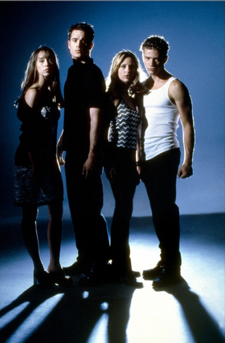 Jennifer Cinta Hewitt, Sarah Michelle Gellar, Ryan Phillippe and Freddie Prinze Jr.