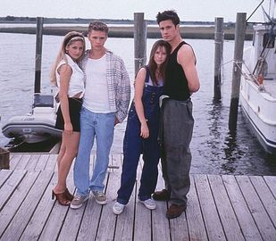 Jennifer Love Hewitt, Sarah Michelle Gellar, Ryan Phillippe and Freddie Prinze Jr.