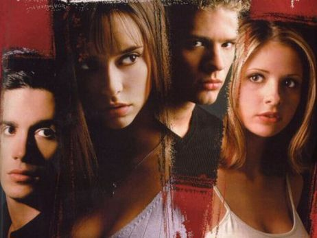 Jennifer 愛 Hewitt, Sarah Michelle Gellar, Ryan Phillippe and Freddie Prinze Jr.