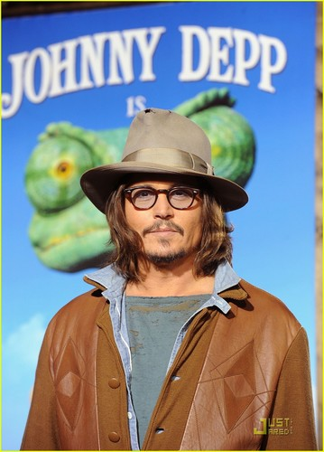 Johnny @ Rango Premiere