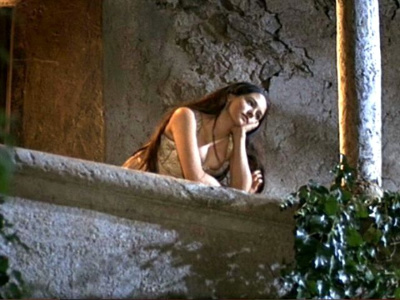 Romeo and juliet 1968 balcony scene.