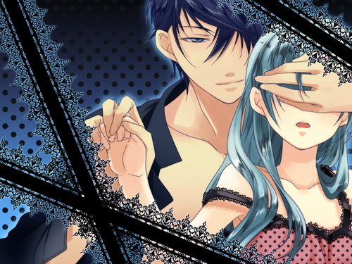 Kaito and Miku <3