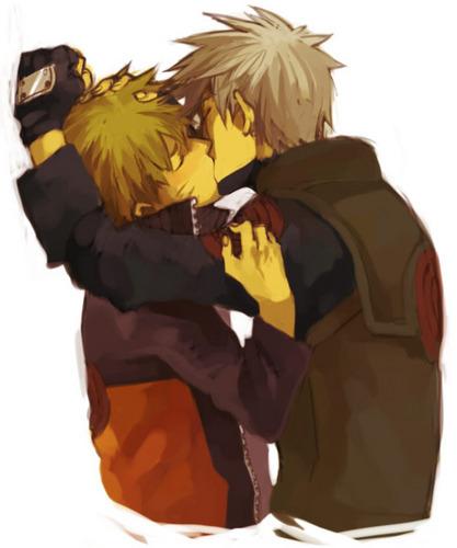 Какаси and Наруто