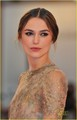 Keira Knightley Premieres 'A Dangerous Method' in Venice
