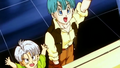 Kid Trunks and Bulma - bulma-briefs screencap
