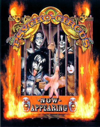KISS wallpaper titled Kiss 1998 ~ Psycho Circus