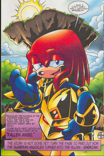 Knuckles under the mask