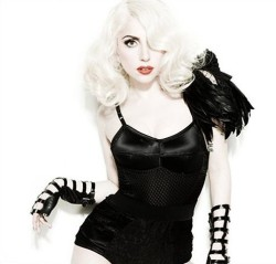 Lady Gaga wallpaper probably with a bustier, a leotard, and tights titled LaDy GaGa♥