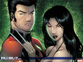 Laura and Hellion - x-men wallpaper