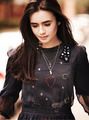 Lily Collins ASOS Magazine October 2011 Photoshoot - lily-collins photo