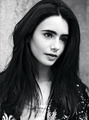 Lily Collins ASOS Magazine October 2011 Photoshoot