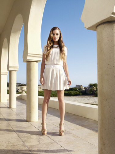 Lily Collins InStyle Magazine May 2011 Photoshoot - lily-collins Photo