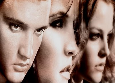 Elvis Aaron Presley and Lisa Marie Presley wallpaper with a portrait called Lisa,Elvis & Riley