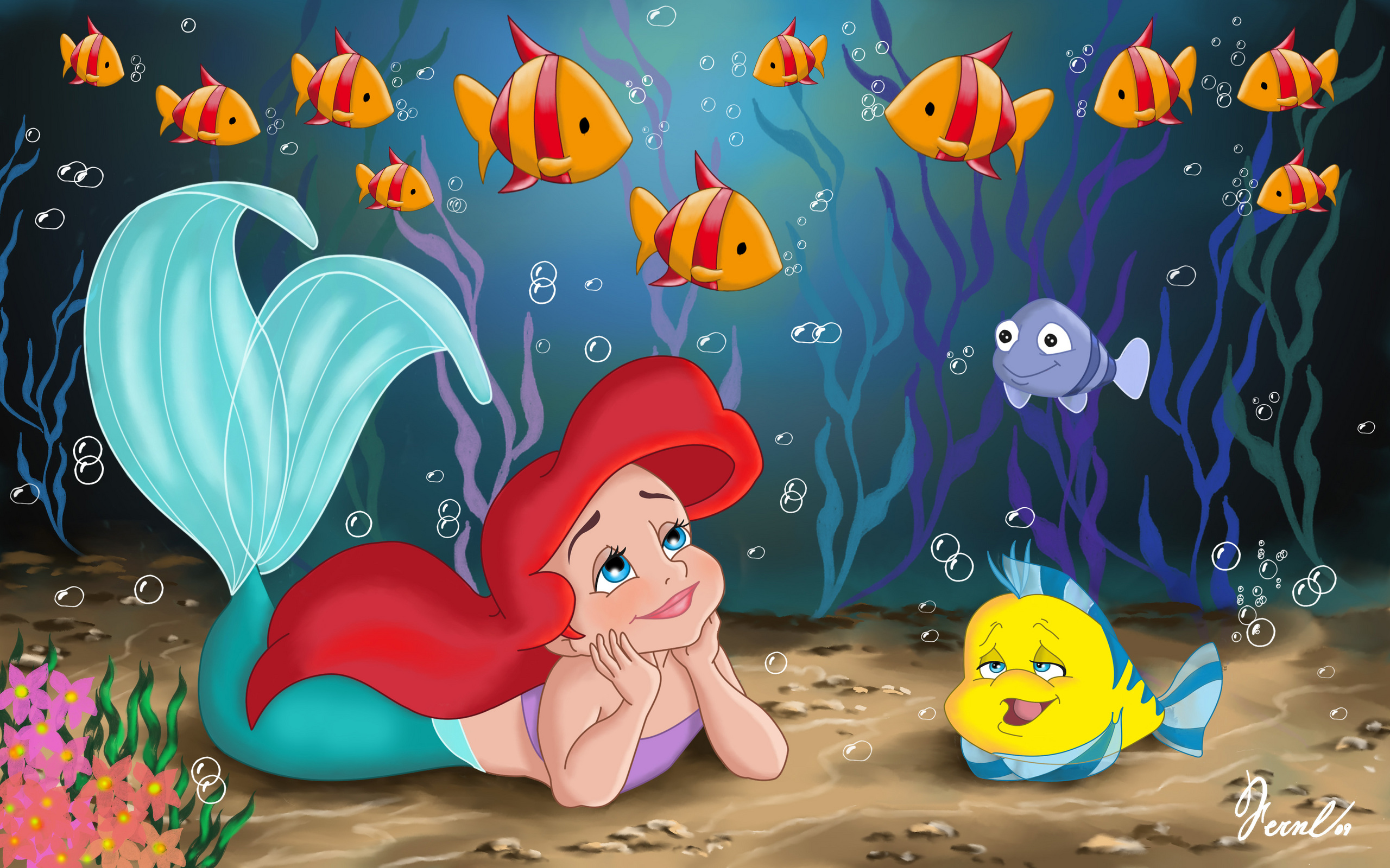 little disney princesses images little ariel hd wallpaper