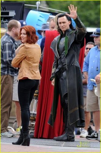 Loki Avengers Set