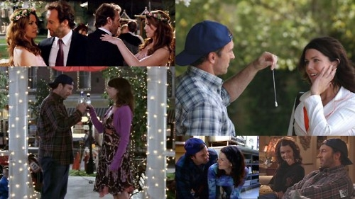 Lorelai and Luke ♥