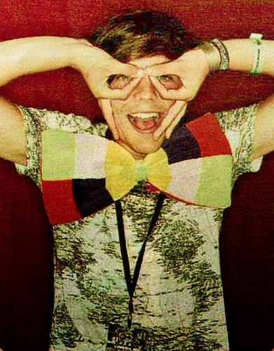 Louis; V Festival photobooth! ♥