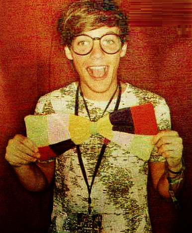 Louis; V Festival photobooth! ♥