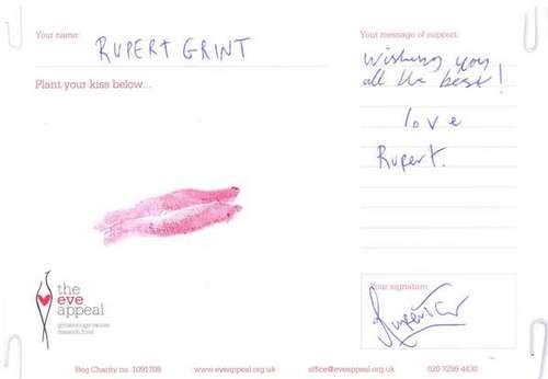 Liebe Rupert ^^