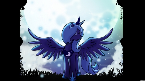 Luna achtergrond