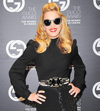 Madonna in Gucci