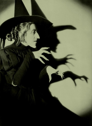 Margaret Hamilton as the Wicked Witch of the West