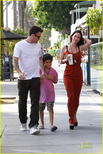 Megan & Brian out in Santa Monica