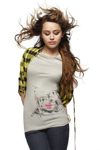 Miley Cyrus and Max Azria Clothing Line Photoshoot