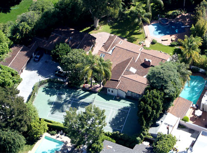 Miley's new house