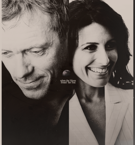 Hugh & Lisa wallpaper probably containing a portrait called Moon and Sun