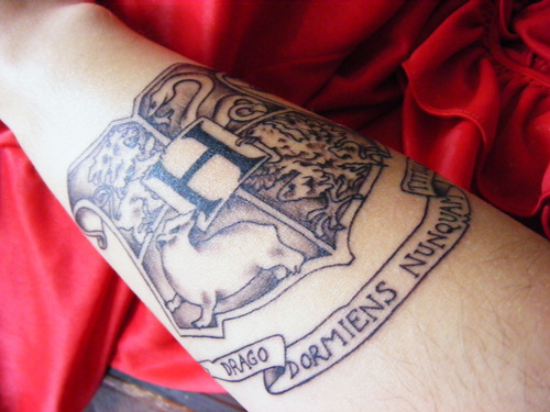 My Hogwarts Tattoo