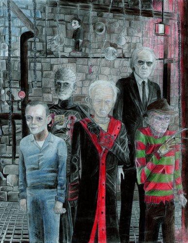 My favori horror legends.