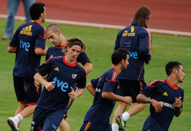 Nando - Spain NT Training